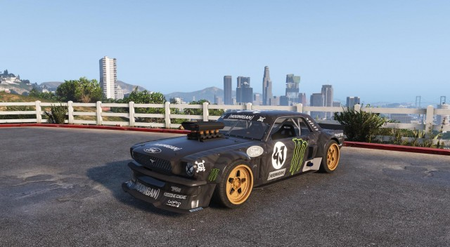 Ford Mustang Hoonicorn 1965 (Add-On / Replace) v1.2