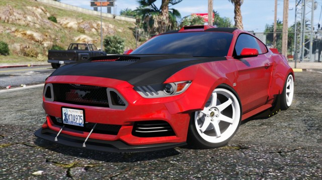 Ford Mustang GT 2015 (RocketB & Wide Body)