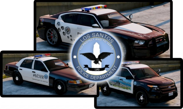 LSPD New Livery Pack v1.0.0