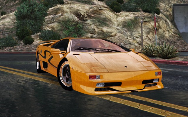 Lamborghini Diablo SV 1997 (Add-On / Replace) v1.3