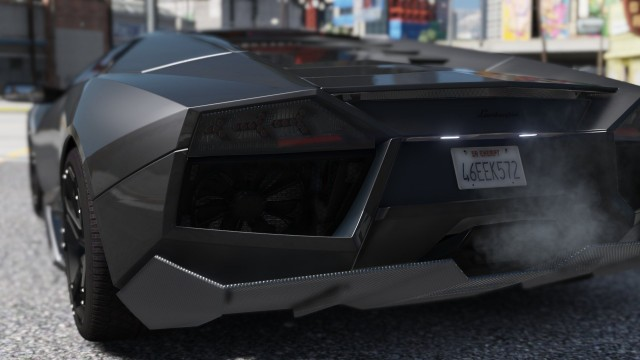 Lamborghini Reventón (Add-On / Replace) для GTA V - Скриншот 1