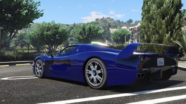 Maserati MC12 (Add-On) для GTA V - Скриншот 3