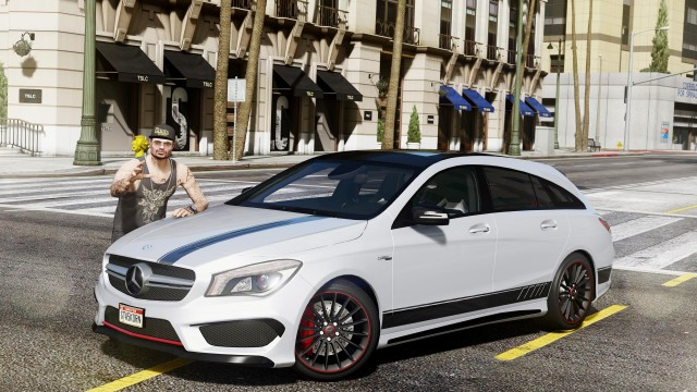 Mercedes-Benz CLA 45 AMG Shooting Brake (Add-On / Replace) v1.5