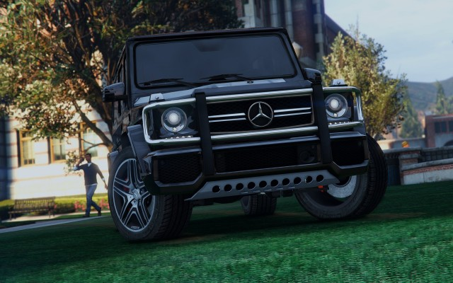 Mercedes-Benz G65 AMG (Add-On / Replace) для GTA V - Скриншот 1