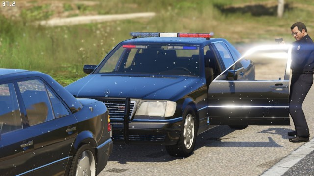 Mercedes-Benz S600 (W140) FBI v1.1