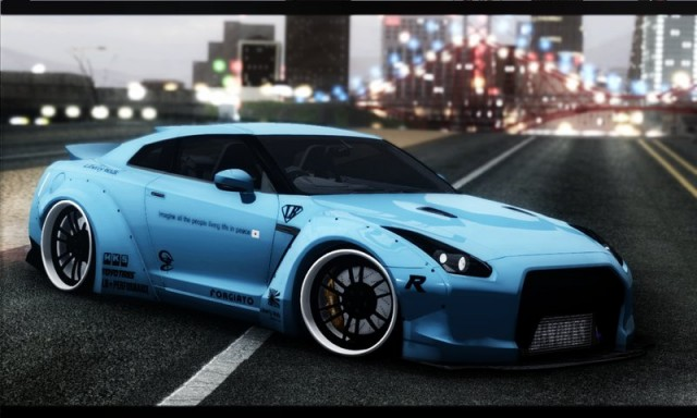"Nissan GTR-R35 ""Liberty Walk LB Performance"""