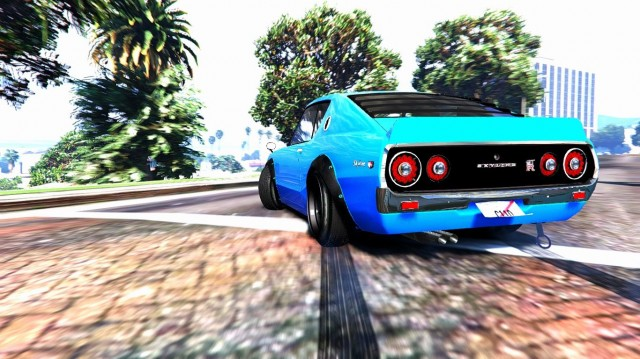 Nissan Skyline Gt-R C110 (BETA) для GTA V - Скриншот 2