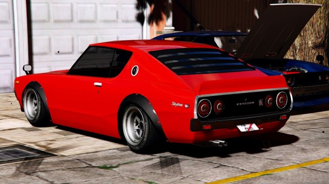 Nissan Skyline Gt-R C110 (BETA) для GTA V - Скриншот 3