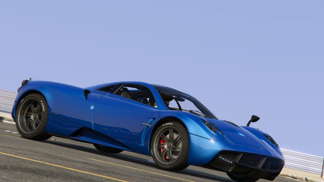 Pagani Huayra 2014 (Add-On / Replace)