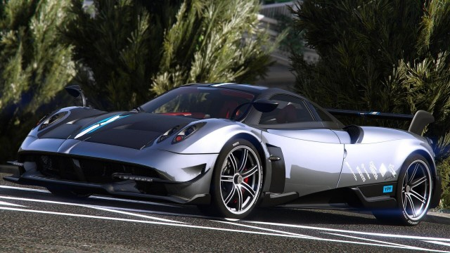 Pagani Huayra BC 2016 (Add-On / Replace)