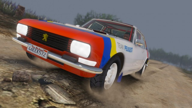 Peugeot 504 Coupé 1976 (Add-On / Replace) v1.0