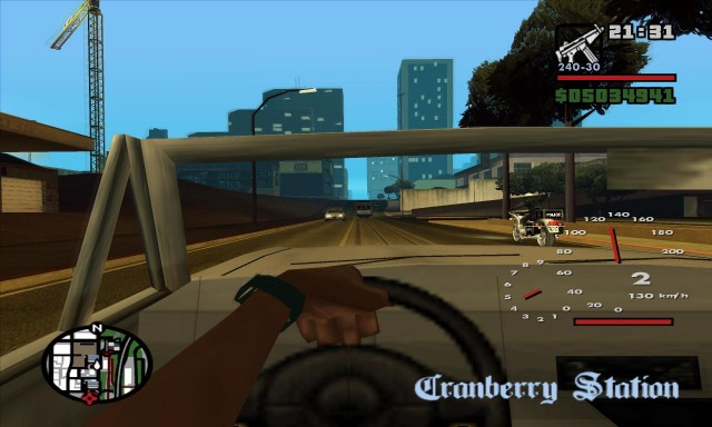 GTA: San Andreas Camera Hack (saCamHack) v1.2