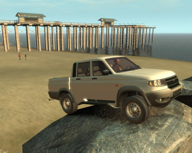 UAZ Patriot Pickup v2.0