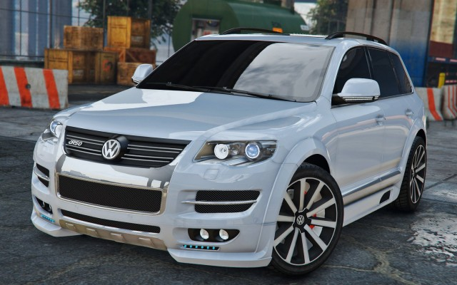 Volkswagen Touareg R50 2008 (Add-On / Replace) v1.0