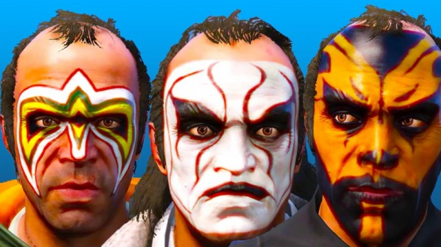 WWE Face-Paint Pack v3.0