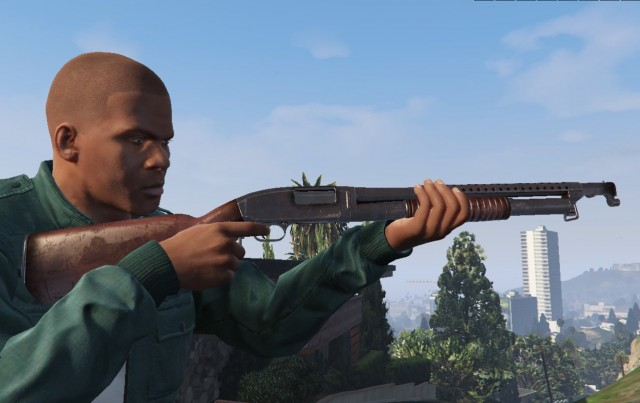 Winchester Model 12 (Animated)
