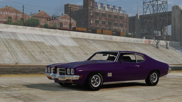 1971 Pontiac LeMans Hardtop Coupe [Add-on/Replace]