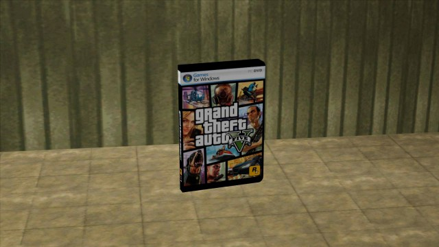 GTA V box Save Pickup