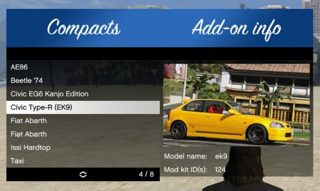 Add-On Vehicle Spawner v1.3.0