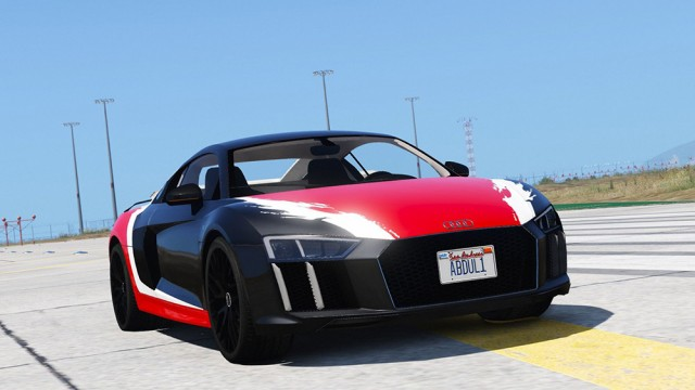 Audi R8 2017 v1.1 (Add-On/Replace)