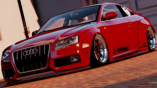 Audi S5 Liberty Walk (Add-On/Replace)