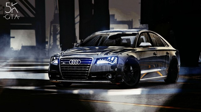 Audi S8 4.0TFSI Quattro 2013 (Add-On/Replace) v1.8