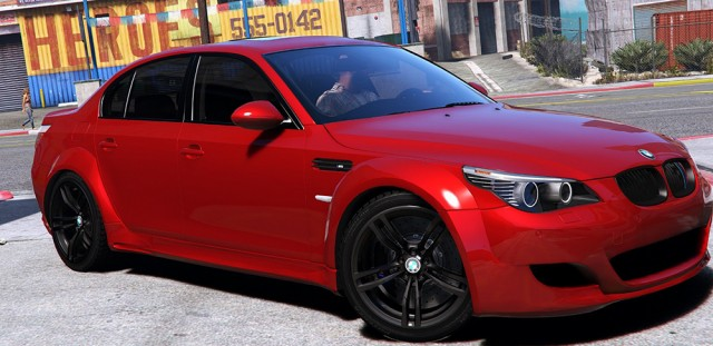 BMW M5 E60 Lumma (Add-On/Replace)