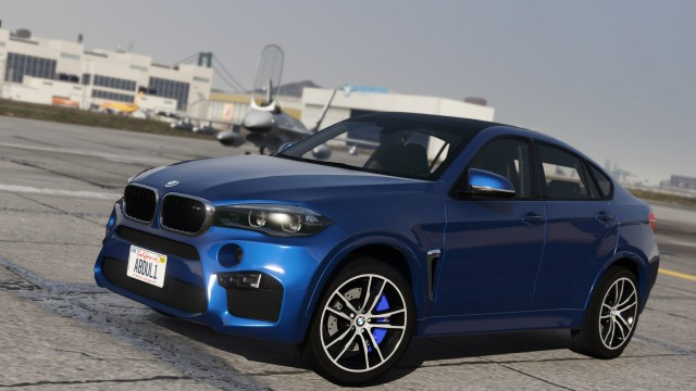 BMW X6M  2016 (Add-On / Replace|Tuning|Livery) v1.1