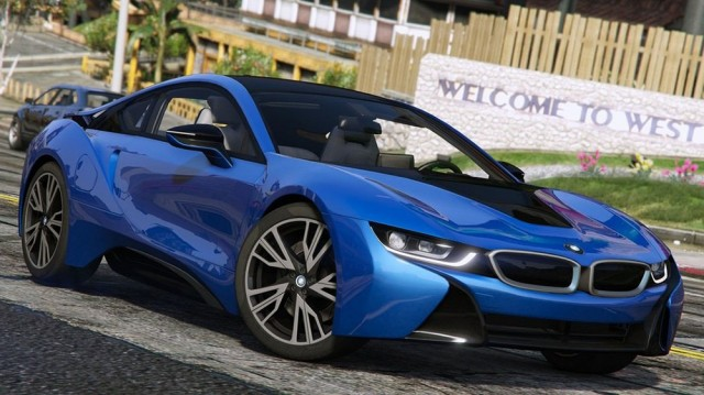 BMW i8 2015 (Add-On)