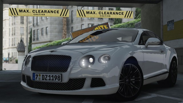 Bentley Continental GT 2014 v1.1