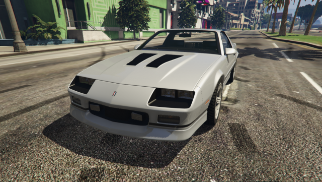 Chevrolet Camaro IROC-Z 1990 (Add-On / Replace) v1.0
