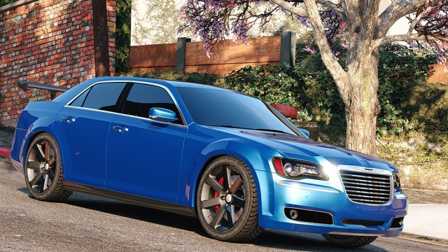 Chrysler 300 SRT8 2012 v1.0 (Add-On/Replace)