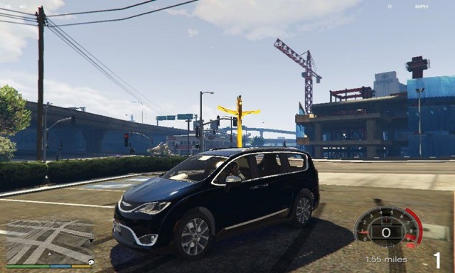 Chrysler Pacifica Limited 2017 v1.0