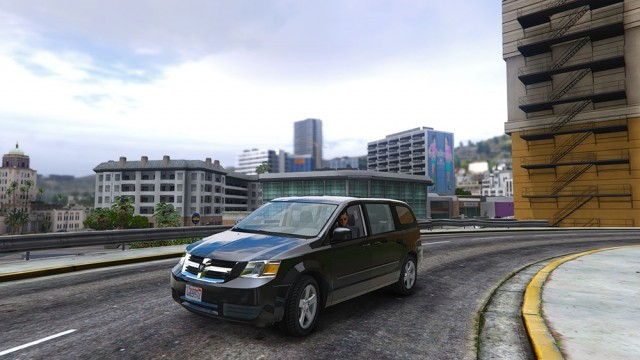 Dodge Grand Caravan SXT 2008 (Add-On/Replace) v1.2