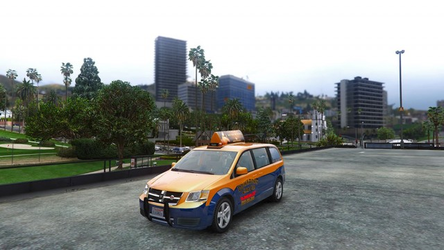 Dodge Grand Caravan Taxi 2008 (Add-On/Replace) v1.2