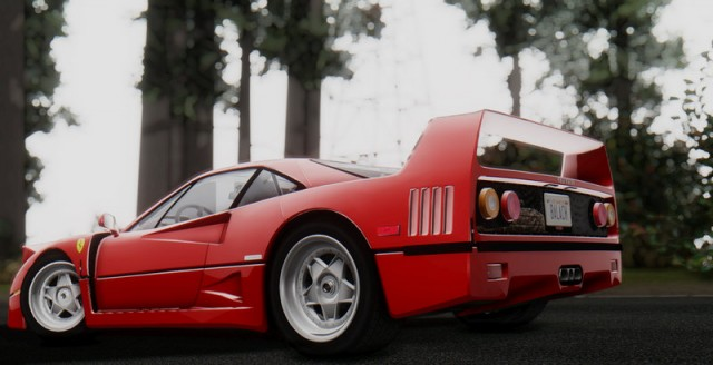 Ferrari F40 (US-Spec) 1989