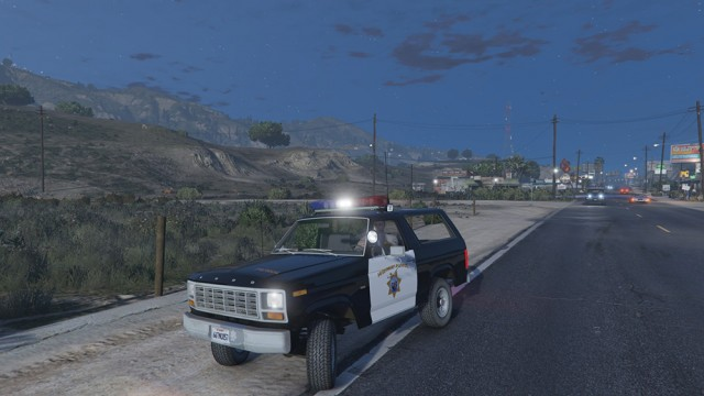 Ford Bronco California Highway Patrol 1980 v1.2