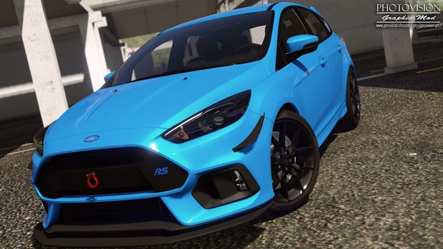 Ford Focus RS 2017 (Add-On/Replace)