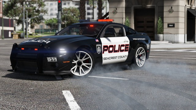 Ford Shelby GT500 Hot Pursuit Police (Add-On/Replace) v2.0