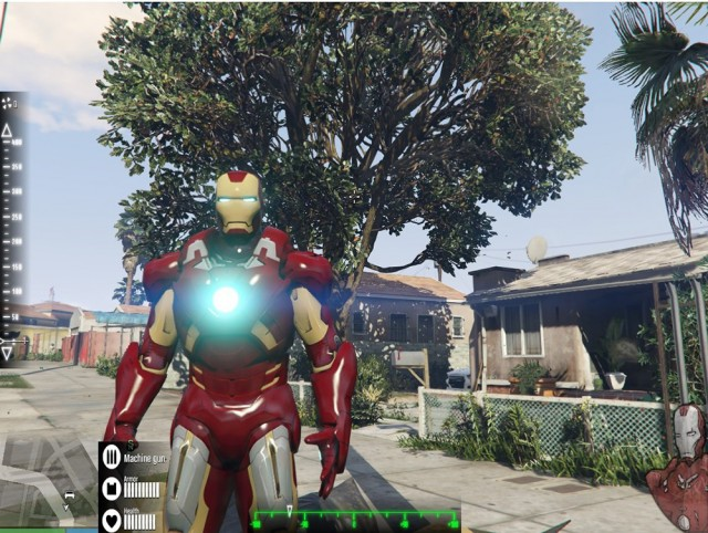 Iron Man Mark 7 Armor