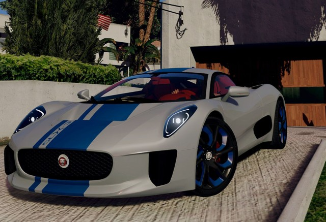 Jaguar C-X75 (Add-On/Replace)