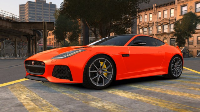 Jaguar F-Type SVR 2016 v1.0