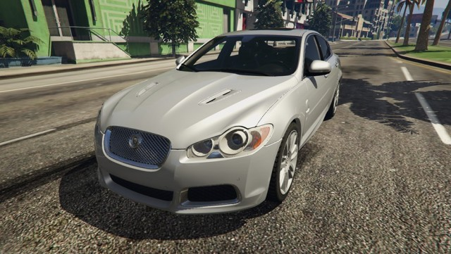 Jaguar XFR 2010 (Add-On/Replace) v1.1