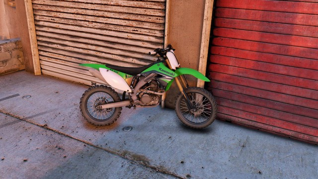 Kawasaki KX450F (Add-On) v1.1