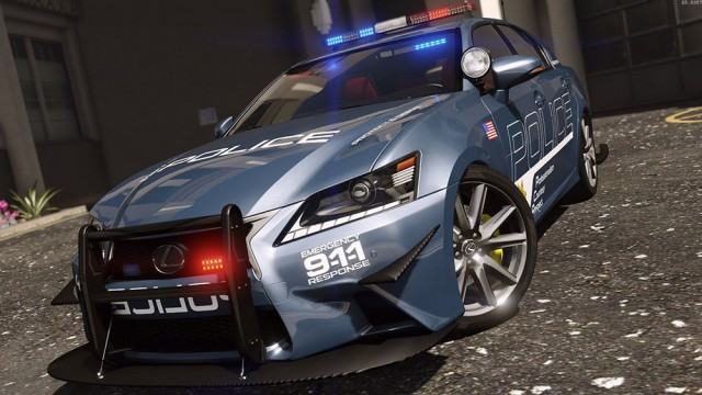 Lexus GS 350 Hot Pursuit Police (Add-On/Replace) v3.0