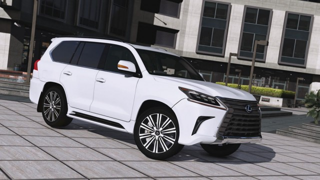Lexus LX 570 2016 (Add-On/Replace) v2.0