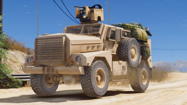 MRAP Cougar 4x4 (Add-On)