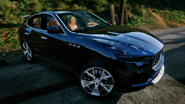 Maserati Levante 2017 (Add-On / Replace-Unlocked-Extras) v1.1