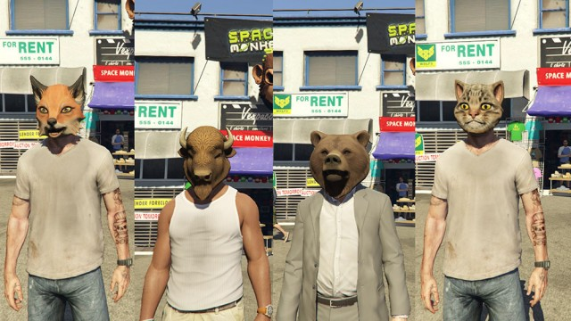 Masks From Online GTA V v2.1