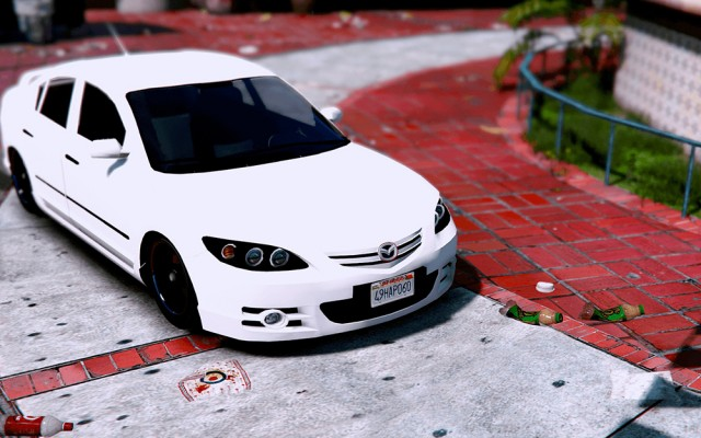 Mazda 3 2008 (Add-On/Replace) v1.0